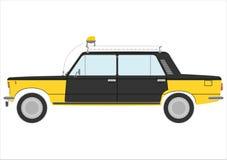 Retro- Taxi. vektor abbildung