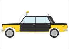 Retro taxi. Royalty Free Stock Image