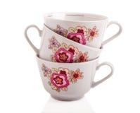 Retro tazza ceramica Immagini Stock