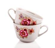 Retro tazza ceramica Fotografie Stock Libere da Diritti