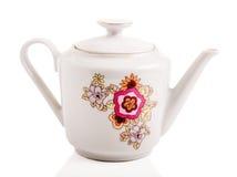 Retro tazza ceramica Fotografia Stock Libera da Diritti