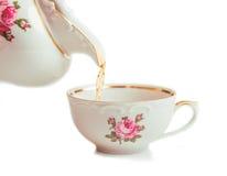 Retro tazza ceramica Immagine Stock