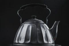 retro teapot Arkivfoton