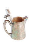 Retro teapot or coffee pot, isolated on white background Royalty Free Stock Photos