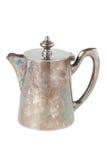 Retro teapot or coffee pot, jug  Royalty Free Stock Images