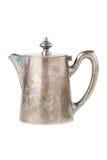 Retro teapot or coffee pot, jug isolated on white Stock Photos