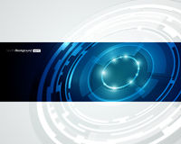 Retro- Technologie-Kreis-vektorauslegung lizenzfreie stockbilder