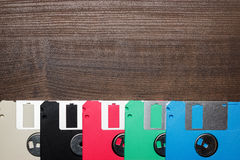 Free Retro Technology Concept Diskette On Wooden Stock Photo - 28532530