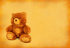 Retro teddy bear stock photography