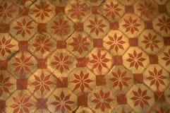retro tegelplattatappning för golv Royaltyfri Bild