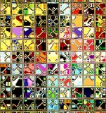 Retro Tegels Stock Afbeelding