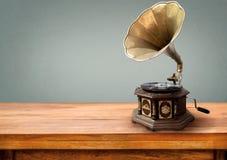 retro teknologi för musikspelare Royaltyfri Bild