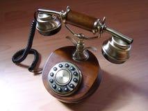 retro telefon Arkivbild