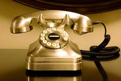 retro telefon Obraz Royalty Free