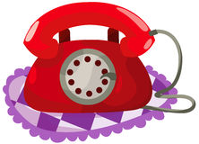 retro telefon Fotografia Stock