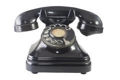 retro telefon 2 royaltyfri bild