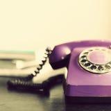 Retro telefon Royaltyfri Fotografi