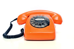 retro telefon Arkivfoto
