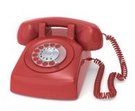 retro telefon royaltyfri illustrationer