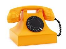 Retro telefon Zdjęcie Stock