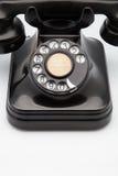 Retro telefon Arkivfoton