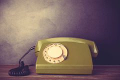 Retro- Telefon Stockbild