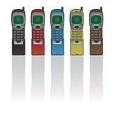 retro telefon Royaltyfri Bild