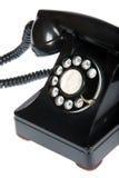 Retro- Telefon-Nahaufnahme Lizenzfreie Stockfotos