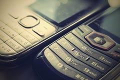 Retro telefoni Fotografia Stock