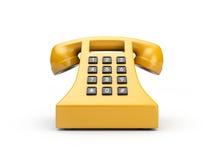 Retro telefono illustrazione di stock