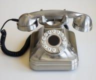 Retro telefono alla moda Fotografia Stock Libera da Diritti