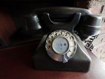 Retro telefono di stile Fotografia Stock Libera da Diritti