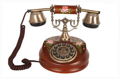 Retro telefoon Stock Foto