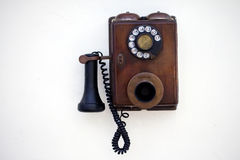 Retro telefoon Royalty-vrije Stock Afbeeldingen