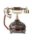 Retro telefoon Royalty-vrije Stock Fotografie