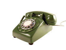 Retro Telefoon Royalty-vrije Stock Foto's