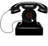 Retro telefoon royalty-vrije illustratie