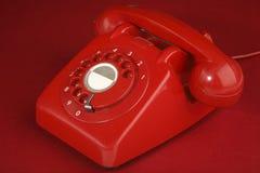 Retro Telefoon Royalty-vrije Stock Foto
