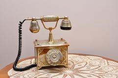 Retro telefoon Stock Afbeelding
