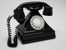 Retro Telefoon geeft terug Royalty-vrije Stock Afbeelding