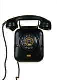 Retro telephone. Vintage telephone isolated on white Royalty Free Stock Photo
