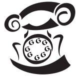 Retro telephone Stock Images