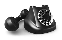 Retro telephone Stock Image