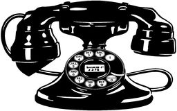 Retro Telephone 4 Royalty Free Stock Image