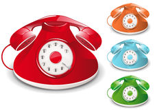 Retro Telephone Royalty Free Stock Photography