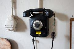 Retro vintage telephone Stock Photo