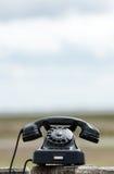 Retro Telephone outdoors Royalty Free Stock Photography