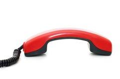 Retro telephone receiver Royalty Free Stock Image
