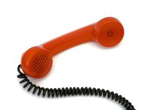 Retro telephone receiver Royalty Free Stock Image