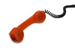 Retro telephone receiver Royalty Free Stock Photography